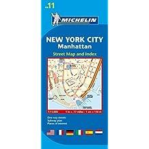 Michelin New York City: Manhattan Map 11 (Michelin City Plans) by (2012-03-16)