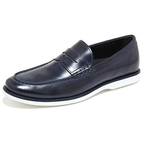 0282N mocassino HOGAN scarpe uomo loafer shoes man blu Blu