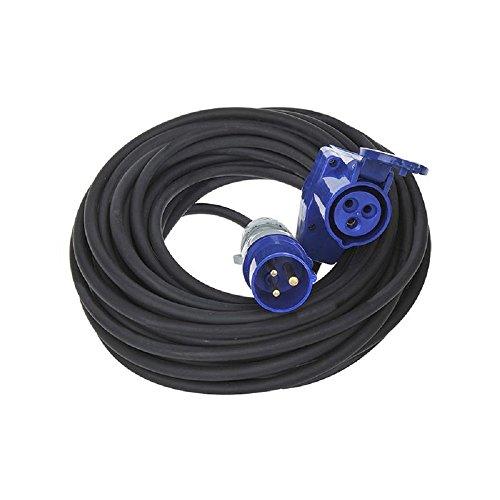 Preisvergleich Produktbild The Drive - CEE Verlängerungskabel mit Winkelkupplung 30m / 230V / 16A / 3polig / IP44 / H07RN-F 3G2, 5mm²