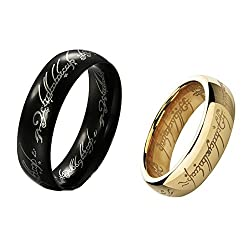 Lord of the Rings Couple rings for love 19 Likes finger rings for girls 2 pieceALRG0302ML