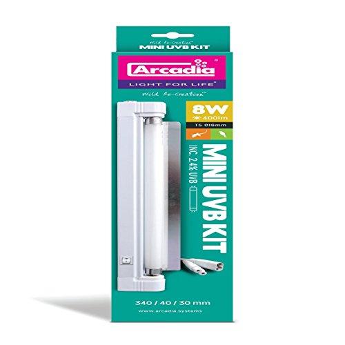 Arcadia - Bird Lamp Komplettleuchte T5 - 8W UV Mini (340 mm) - Mini-leuchtstoffröhren