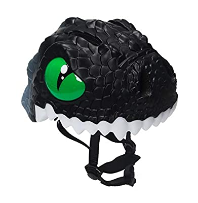 Dinosaur Red / Blue / Green / Black / Yellow Bicycle Cycle Cycling Bike Helmet for Toddler Child Children Kids Safety Protection,Ultralight Breathable Sport Bike Helmet for youth boy girl Age 3-10 by Zjoygoo