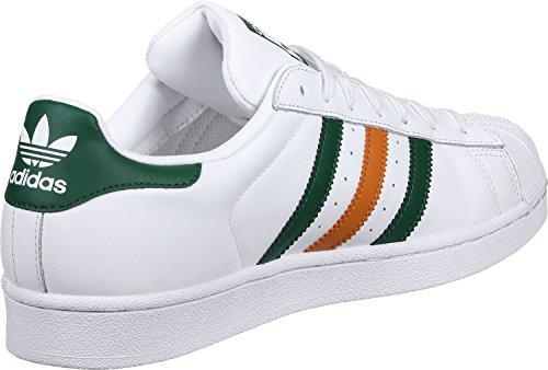 adidas Superstar 2 Tone Stripes Uomo Formatori White