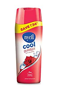 Nycil Cool Gulabjal Powder, 400g