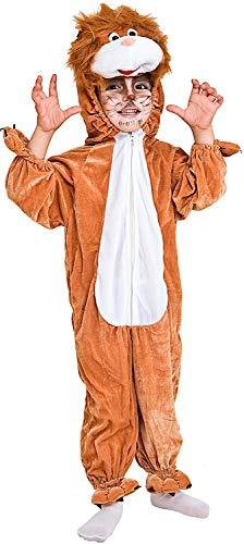 Costume di carnevale da leoncino vestito per neonato bambino 1-4 anni travestimento veneziano halloween cosplay festa party 2023 taglia 2