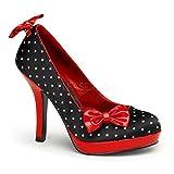 Pinup Couture Secret-12 - sexy zapatos de tacón alto mujer retro plataforma - tamaño 35-42, US-Damen:EU-35 / US-5 / UK-2