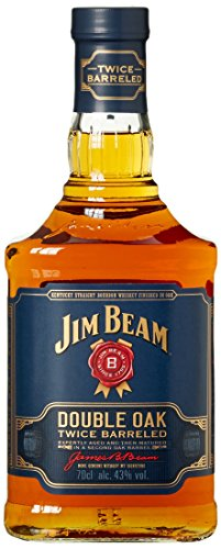 Jim Beam Double Oak Bourbon Whiskey (1 x 0.7 l)