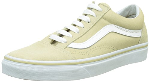 Vans Unisex-Erwachsene UA Old Skool Sneakers, Beige (Pale Khaki/True White), 40 EU (Khaki True)