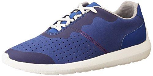 Clarks Torset Vibe, Sneakers Basses Homme Bleu (Blue)