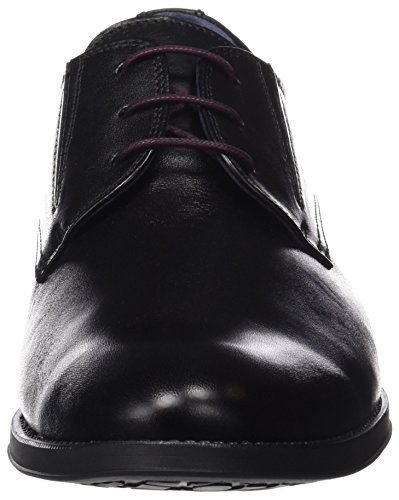 Fluchos- Retail Es Spain Mens Heracles 8410 Scarpe Derby Nere (memory Black)