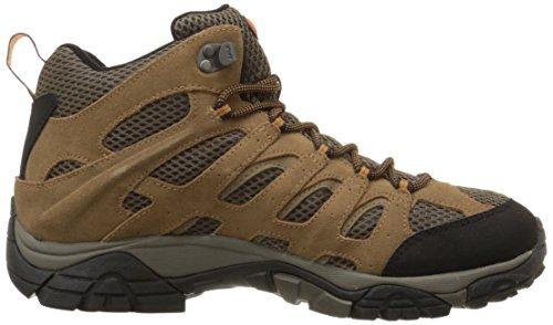 Merrell MOAB MID WATERPROOF J88623, Chaussures de randonnée homme Marron-TR-SW186