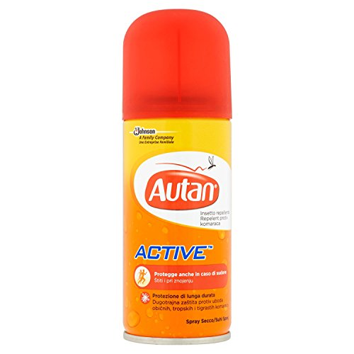 Autan Active Spray Secco Repellente - 50 ml