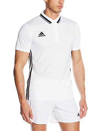 adidas Erwachsene Con16 Cl Polo, Weiß/schwarz, 3XL, AJ6900 (Schwarz Erwachsene Polo)