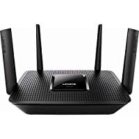 ‏‪Linksys EA8300 Max-Stream AC2200 Tri-Band Wi-Fi Router, Black‬‏