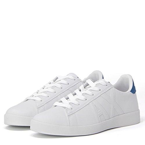 Armani Exchange Herren Schuhe Sneaker 955072 8P461 42.5 Weiss