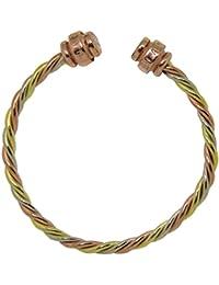 Miracle Jewelry - Pulsera brazalete tailandés Suriyan Jantra - Hecho a mano