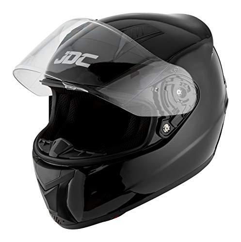 JDC Casque Moto Intégral - Prism - Noir - M