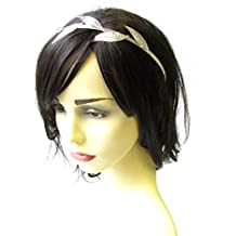 Silver Leaf Headband Headpiece Grecian pelo Vine corona Laurel romano oliva 1981 * Exclusivamente Se Vende por STARCROSSED Beauty *