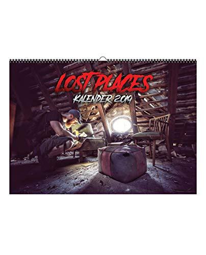 Preisvergleich Produktbild Fritz Meinecke Lost Places Kalender A3 2019