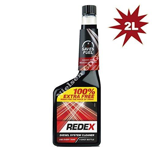 Redex RDX06EF Diesel Treatment HOL-RDX06EF - 250ML+100% FREE - 4x500ml = 2L - for the price of - 1 Litre