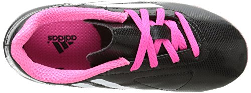 adidas Performance Conquisto Firm-Ground J Soccer Cleat ,Black/White/Solar Pink,1 M US Little Kid Black/White/Solar Pink