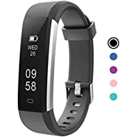 Delvfire Flare Fitness Tracker Watch with Sleep Monitor, Activity Tracker, Step and Calorie Counter, Bluetooth Sports Pedometer Bracelet compatible with iPhone Android for Ladies, Women, Men and Kids