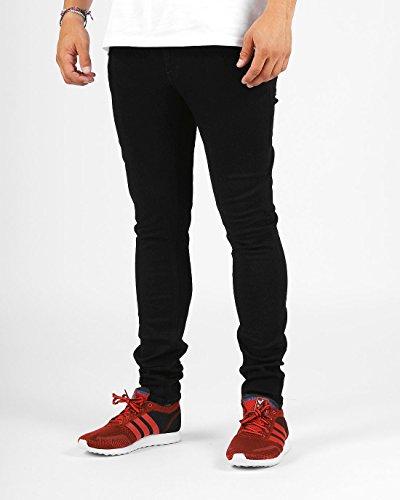 Nudie Jeans Unisex Jeans Skinny Lin schwarz / schwarz