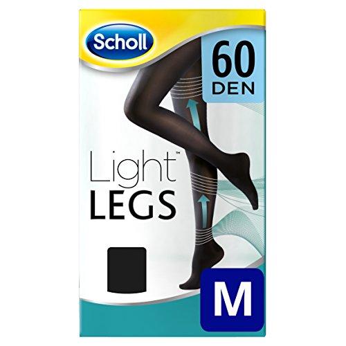 Scholl calze donna light legs 60 den m, nero - 1 paio