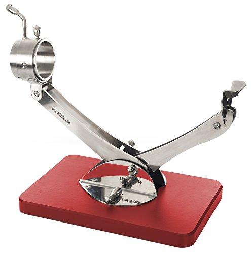 Jamonero Articulado Giratorio 360 Inox Rojo Steelblade | Soporte Jamonero