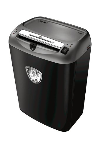 Fellowes Powershred 75Cs Cross Cut Aktenvernichter (P-4), 12 Blatt, 1-3 Nutzer, patentierte SafeSense Technologie (Cross Shredder)