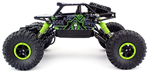 RC Crawler kaufen Crawler Bild 1: H&B HB HB-P1803 Rock Crawler,CrossRace Ferngesteuertes, 1:18 RC Auto,4WD Monster Truck/Off Road Fahrzeug(Grün), Grün1*