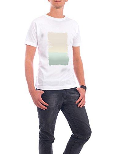"""Design T-Shirt Männer Continental Cotton """"Pastel Abstract Painting"""" - stylisches Shirt Abstrakt von Paper Pixel Print Weiß"""
