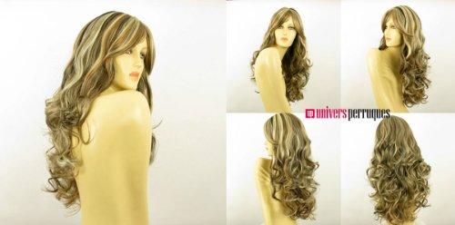perruque-femme-longue-blond-clair-meche-cuivre-clair-et-chocolat-bouclee-ref-zara-15613h4