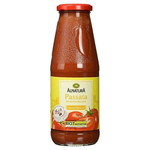 Alnatura Bio Passata fein passierte Tomaten Natur, 690 g