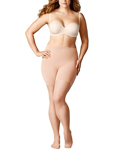 FALKE Damen Beauty Plus 20 Denier ebenmäßig-matte Optik transparente Feinstrumpfhose, 20 DEN, powder, A SHORT -