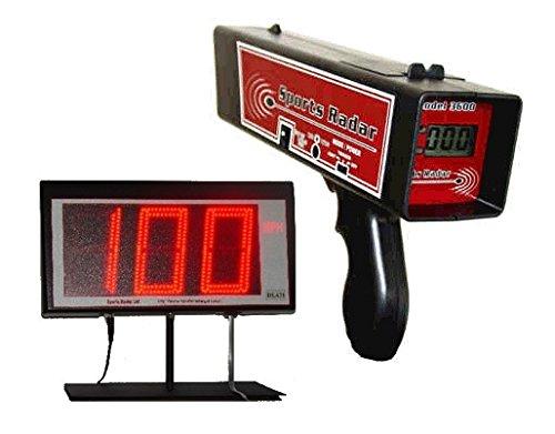 Sport sr3600Radar Radar Pistolet & dl431Écran LED, étui rigide, 25'Câble, adaptateur 9V AC