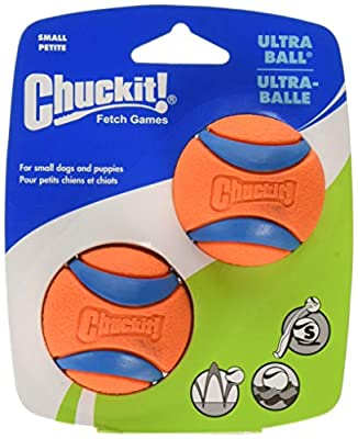 Chuckit Ultra Dog Ball Toy 2 Pcs Size S by Chuckit