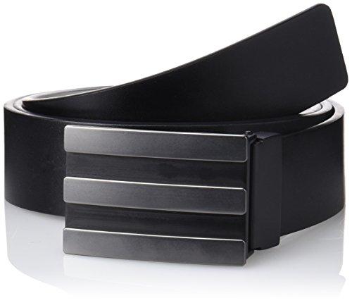 adidas Herren Gürtel 3-Stripes Reversible, Schwarz, (Herstellergröße:Einheitsgröße) (Herren Gürtel Reversible)