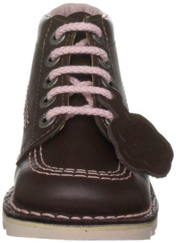 Kickers - Kinder Schnürstiefel 'Kickit' marrón - marrón