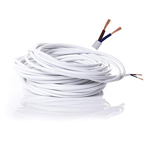 Cable eléctrico de 2 núcleos de PVC Cable Eléctrico de Alambre de...