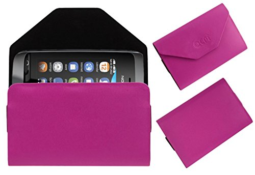 Acm Premium Pouch Case For Nokia Asha 310 Flip Flap Cover Holder Pink  available at amazon for Rs.179
