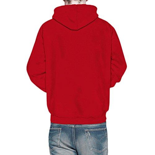 Partiss - Sweat à capuche - Femme red