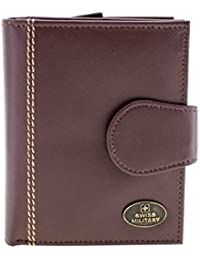 Swiss Military PU Leather Brown Men's Wallet