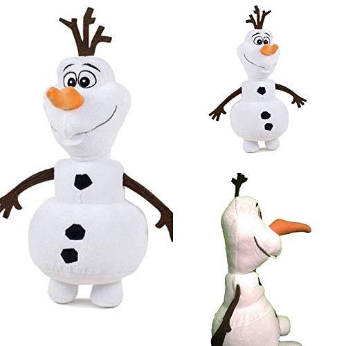 Disney Frozen Olaf Bonhomme de neige Reine des Neiges peluche 35cm
