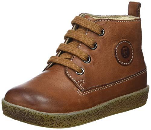 falcotto lauflernschuhe Falcotto Baby Jungen Celio Sneaker, Braun (Cuoio 0d07), 22 EU