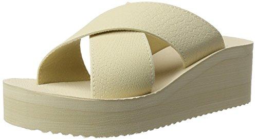 flip*flop - Plateau Cross, Sandali Donna Beige (sombrero)