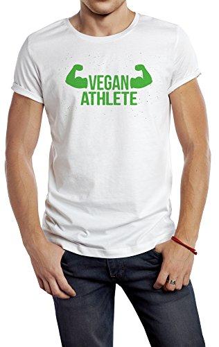 Atleta Vegano - Deporte Masculino 180g. Calidad Premium de secado rápido (L)