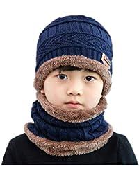 3c1b8b6a8 UPSTORE - Juego de 2 Gorros Unisex para niños de 3 a 12 años de Edad