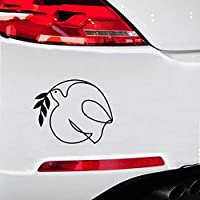 Cars Bumper Sticker 15x12.1Cm Dove Peace for Car Window Truck Laptop Decal Sticker World Hobby Car Accessories Motorcycle Helmet Car Styling for Car Laptop Window Sticker