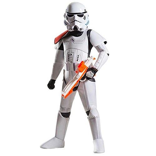 Rubie's offizielles Disney Star Wars Super-Deluxe-Sturmtruppen-Kostüm, Kinder-Kostüm- Größe ()